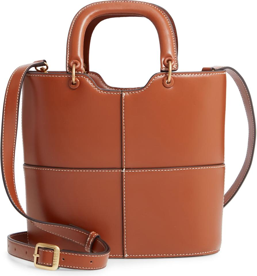 """<p><a href=""""https://www.popsugar.com/buy/Staud-Andy-Seamed-Leather-Tote-535509?p_name=Staud%20Andy%20Seamed%20Leather%20Tote&retailer=shop.nordstrom.com&pid=535509&price=245&evar1=fab%3Aus&evar9=47038307&evar98=https%3A%2F%2Fwww.popsugar.com%2Ffashion%2Fphoto-gallery%2F47038307%2Fimage%2F47050855%2FStaud-Andy-Seamed-Leather-Tote&list1=shopping%2Cnordstrom%2Csale%2Conline%20sales%2Csale%20shopping%2Cfashion%20shopping&prop13=api&pdata=1"""" rel=""""nofollow"""" data-shoppable-link=""""1"""" target=""""_blank"""" class=""""ga-track"""" data-ga-category=""""Related"""" data-ga-label=""""https://shop.nordstrom.com/s/staud-andy-seamed-leather-tote/5356716/full?origin=category-personalizedsort&amp;breadcrumb=Home%2FSale%2FWomen&amp;color=tan"""" data-ga-action=""""In-Line Links"""">Staud Andy Seamed Leather Tote</a> ($245, originally $350)</p>"""