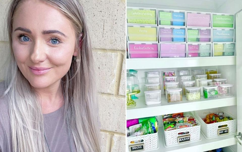 Mum of three Jessica shows off her incredibly organised home.