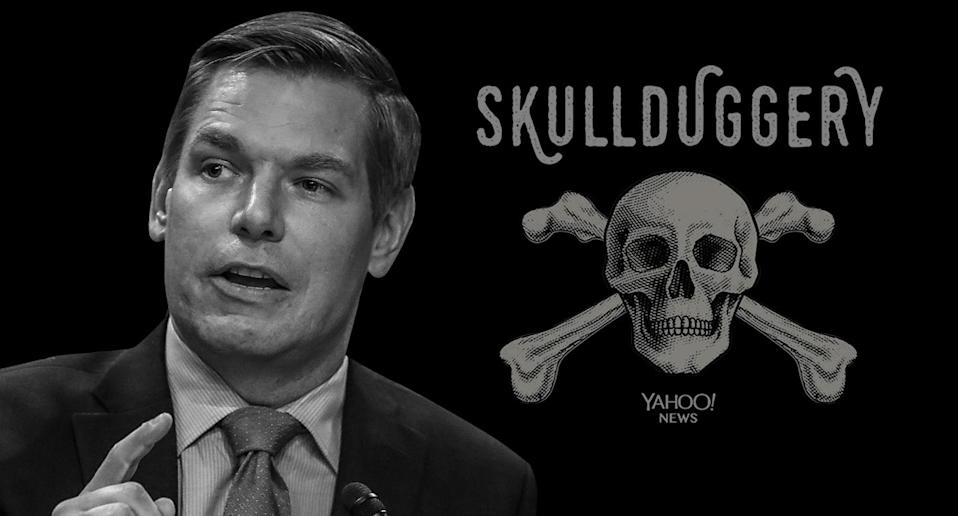 Rep. Eric Swalwell, D-Calif. (Yahoo News photo Illustration; photo: AP)