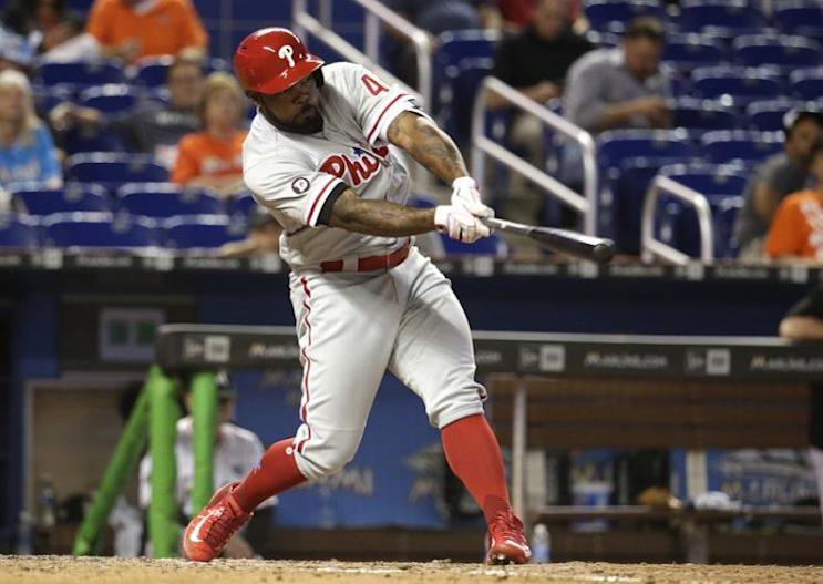 Veteran Howie Kendrick is headed to the Nationals in a trade between NL East rivals. (AP)