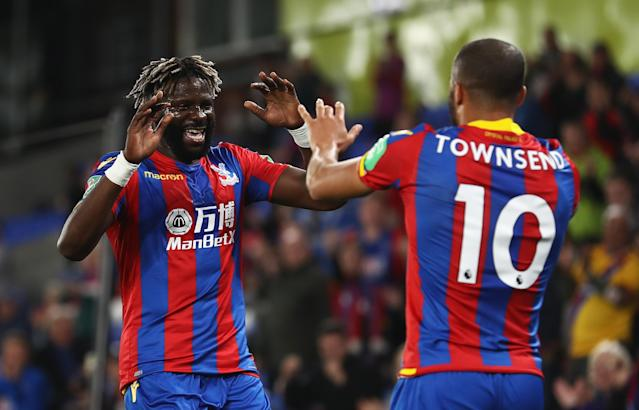 Bakary Sako nabbed what proved to be the winner from Townsend's corner