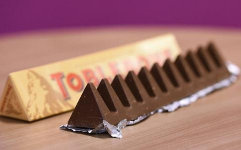 A Toblerone chocolate bar - Credit: Charlotte Ball/PA Wire