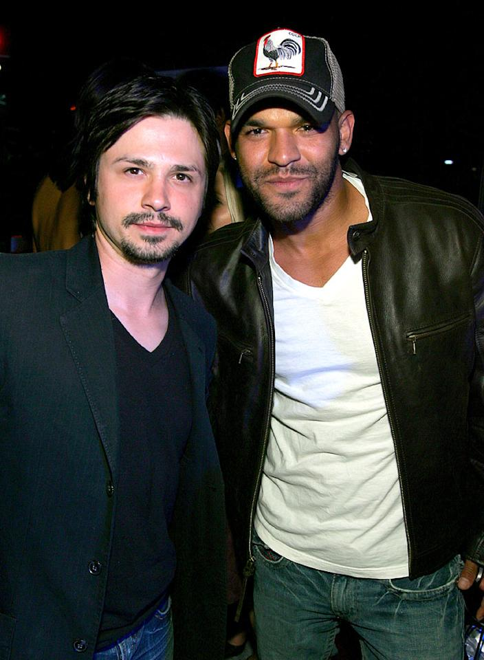 "Freddy Rodriguez and Amaury Nolasco. John Shearer/<a href=""http://www.wireimage.com"" target=""new"">WireImage.com</a> - May 31, 2007"