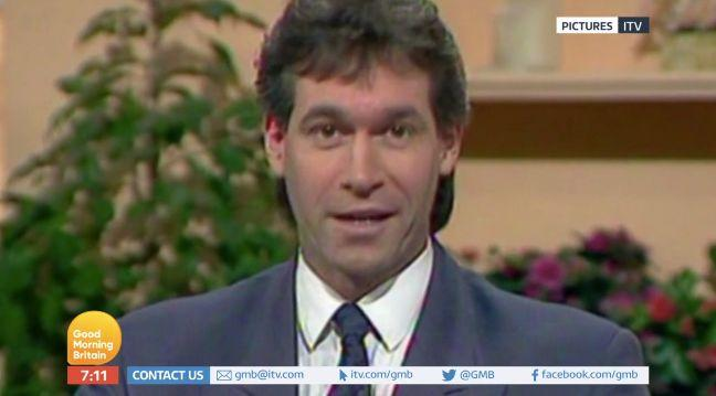 Dr Hilary Jones first appeared on breakfast television in 1989 (Credit: ITV's Good Morning Britain)