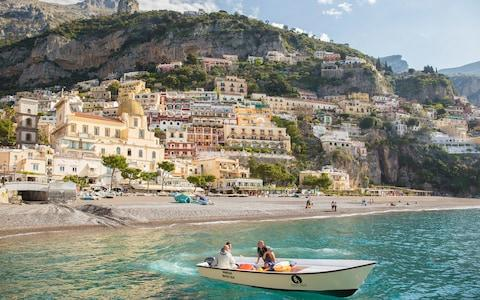 Positano boat trip - Credit: (C) David Clapp Photography Ltd - 2016/David Clapp
