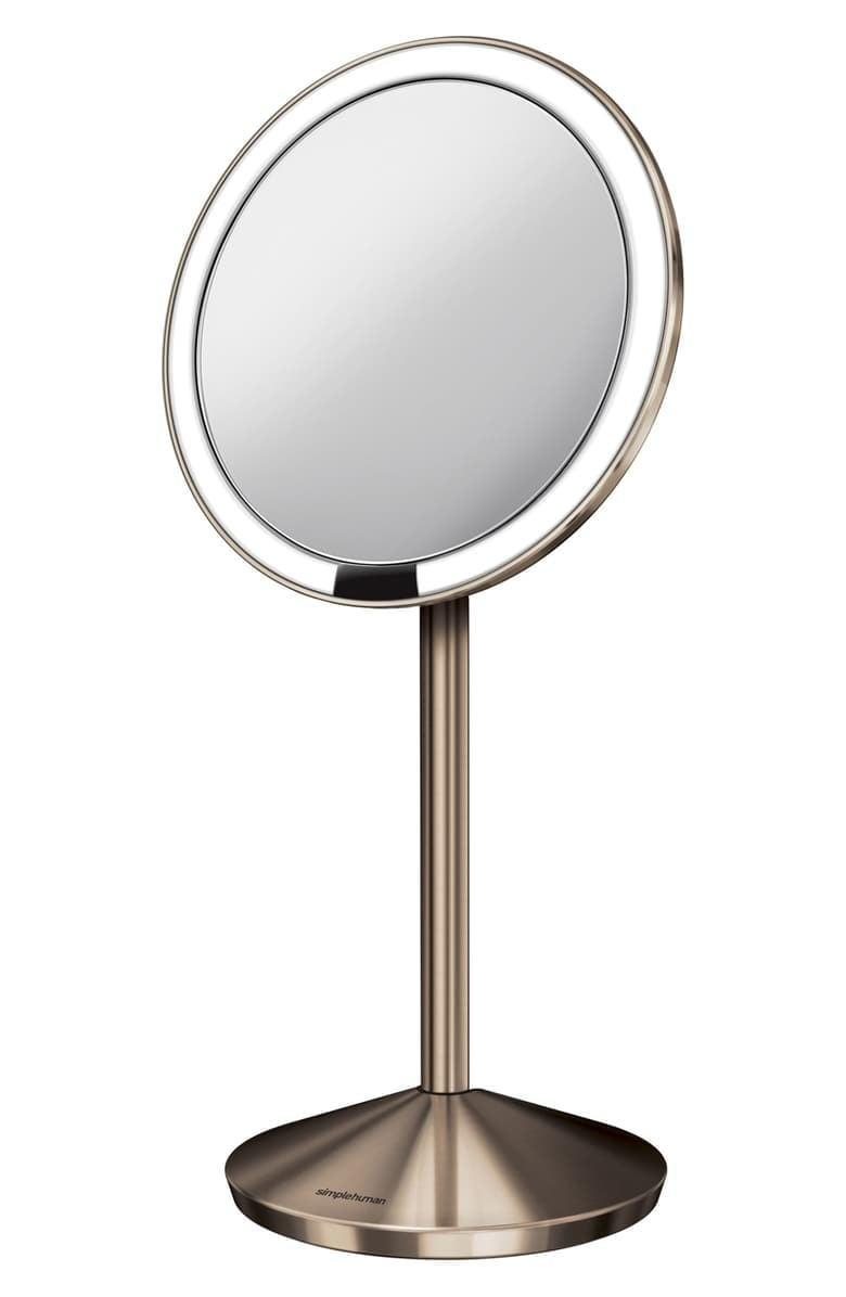 <p>As someone who likes feeling and looking good <em>always</em>, a Cancer appreciates vanity. Translate this trait literally with the <span>simplehuman Mini Countertop Sensor Makeup Mirror</span> ($130) that they can add to their actual vanity. The sunlight-simulating lights automatically trigger when your face approaches the mirror, making makeup application a breeze.</p>
