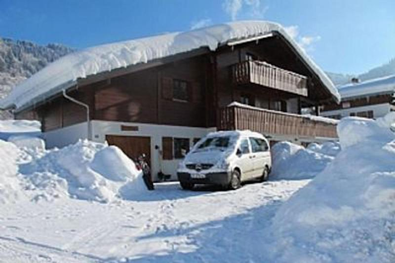 """""""Simple yet luxurious"""": Richard Howson's family is understood to own a chalet in the Alpine resort of Chatel"""