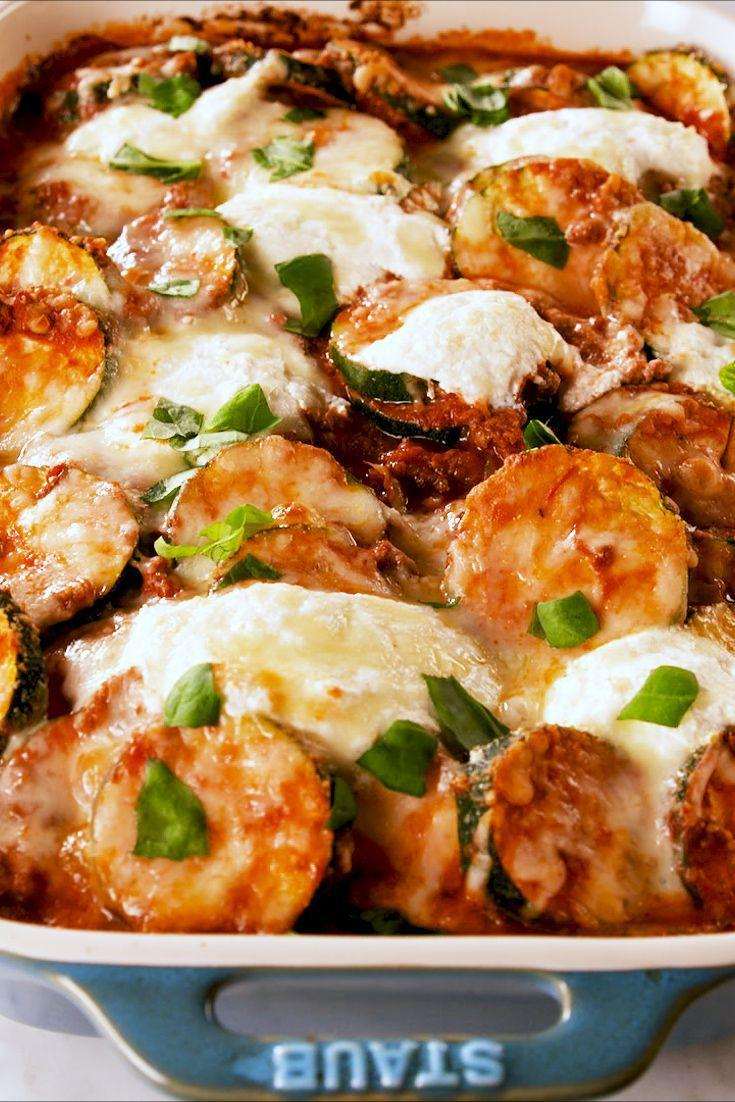 "<p>Mmm, look at all the ricotta 😍</p><p>Get the recipe from <a href=""https://www.delish.com/cooking/recipe-ideas/a27323668/zucchini-baked-ziti-recipe/"" rel=""nofollow noopener"" target=""_blank"" data-ylk=""slk:Delish"" class=""link rapid-noclick-resp"">Delish</a>.</p>"