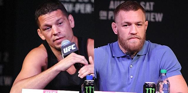 Like Conor McGregor, Nate Diaz Receives Reduced Bottle-Throwing Punishment