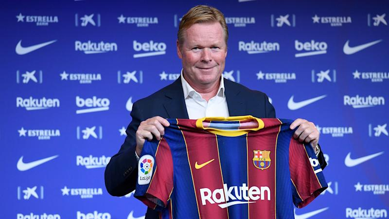 'We were disappointed to see Koeman leave' - Van Dijk understands why Barca boss needed to take dream job