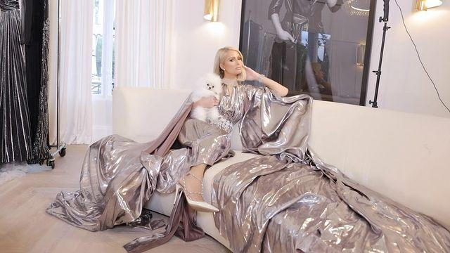 """<p>The star attended post-Oscars celebrations with Bakalova and beforehand decided what to wear in a video on her Instagram page. She ended up with a gorgeous Maison Valentino choice.</p><p><a href=""""https://www.instagram.com/p/COJQcvuhhXE/"""" rel=""""nofollow noopener"""" target=""""_blank"""" data-ylk=""""slk:See the original post on Instagram"""" class=""""link rapid-noclick-resp"""">See the original post on Instagram</a></p>"""