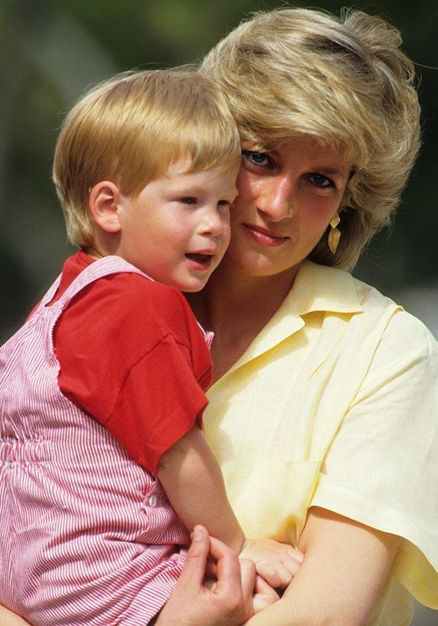 Prince Harry was 12-years-old when his mother passed away. Photo: Getty.