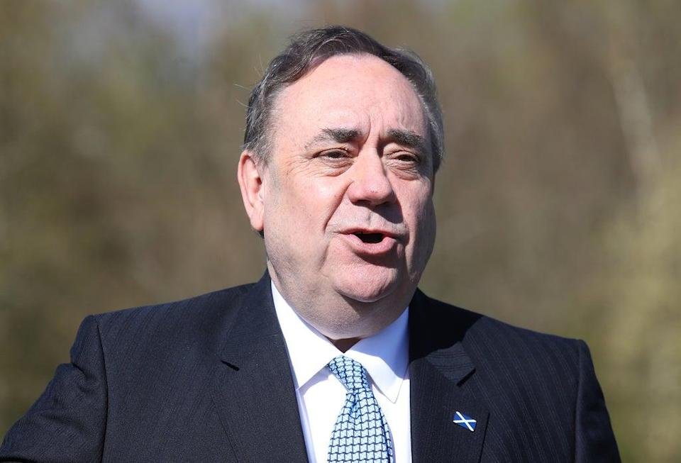 Mr Salmond challenged the investigation in court (Andrew Milligan/PA) (PA Wire)