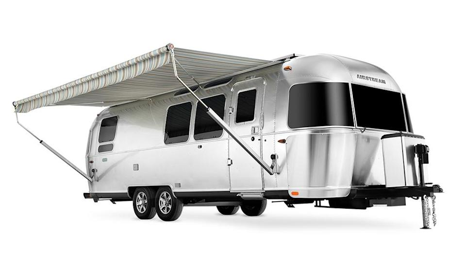Airstream Pottery Barn Special Edition travel trailer - Credit: Airstream