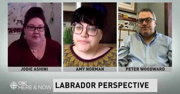 Jodie Ashini, Amy Norman and Peter Woodward share their thoughts on two of the recommendations from the Greene report. (CBC - image credit)