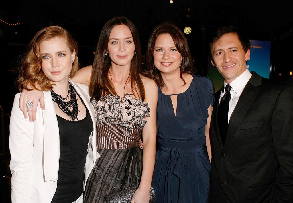 "<a href=""http://movies.yahoo.com/movie/contributor/1800018895"">Amy Adams</a>, <a href=""http://movies.yahoo.com/movie/contributor/1808577445"">Emily Blunt</a>, <a href=""http://movies.yahoo.com/movie/contributor/1804501768"">Mary Lynn Rajskub</a> and <a href=""http://movies.yahoo.com/movie/contributor/1800350330"">Clifton Collins Jr.</a> at the Los Angeles premiere of <a href=""http://movies.yahoo.com/movie/1809823943/info"">Sunshine Cleaning</a> - 03/09/2009"