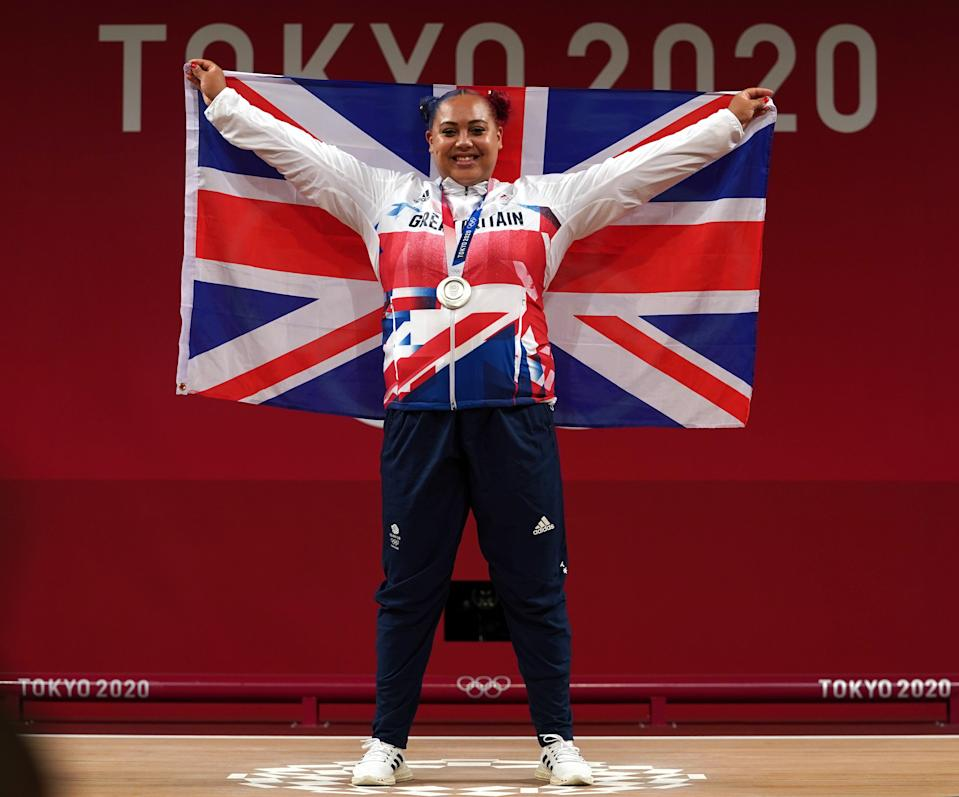 Emily Campbell hopes to inspire a new generation of weightlifters (Martin Rickett/PA) (PA Wire)
