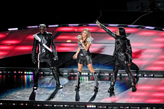 2011: Black Eyed Peas. (Photo by Robin Alam/Icon SMI/Corbis/Icon Sportswire via Getty Images)