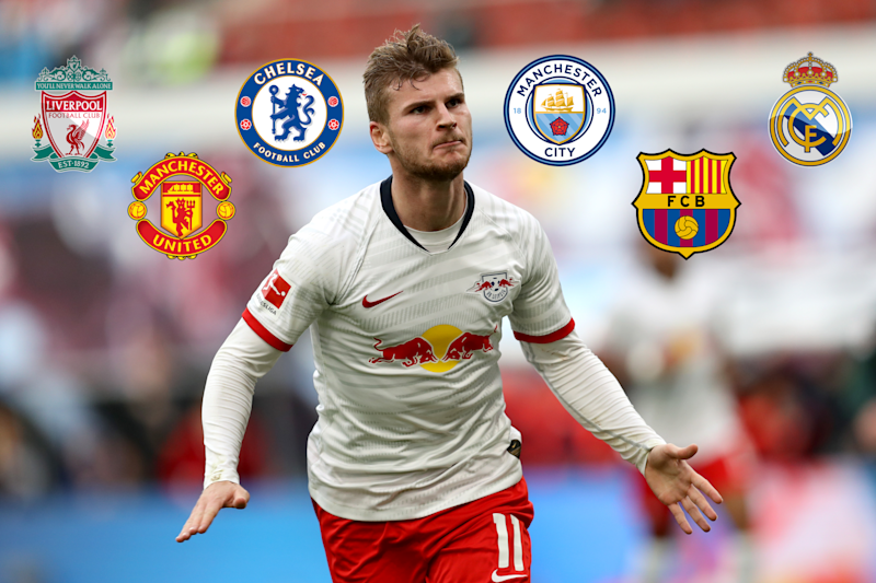 Timo Werner is very much a striker in considerable demand (Getty Images)