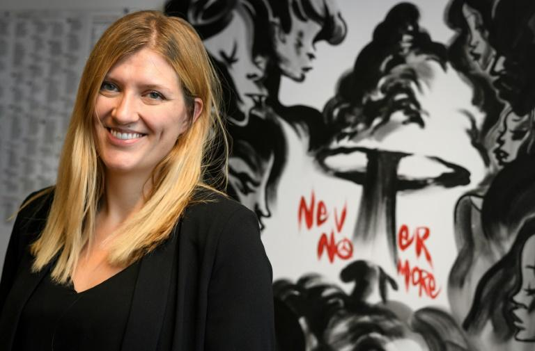 Beatrice Fihn, head of 2017 Nobel Peace Prize-winning ICAN, says the world must rid itself of nuclear weapons