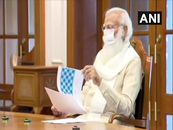 PM Modi chaired meeting on prospect of Class 12th exams (Photo/ANI)