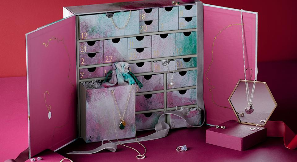 John Lewis launches its first ever own brand jewellery advent calendar ahead of Christmas.  (John Lewis & Partners)