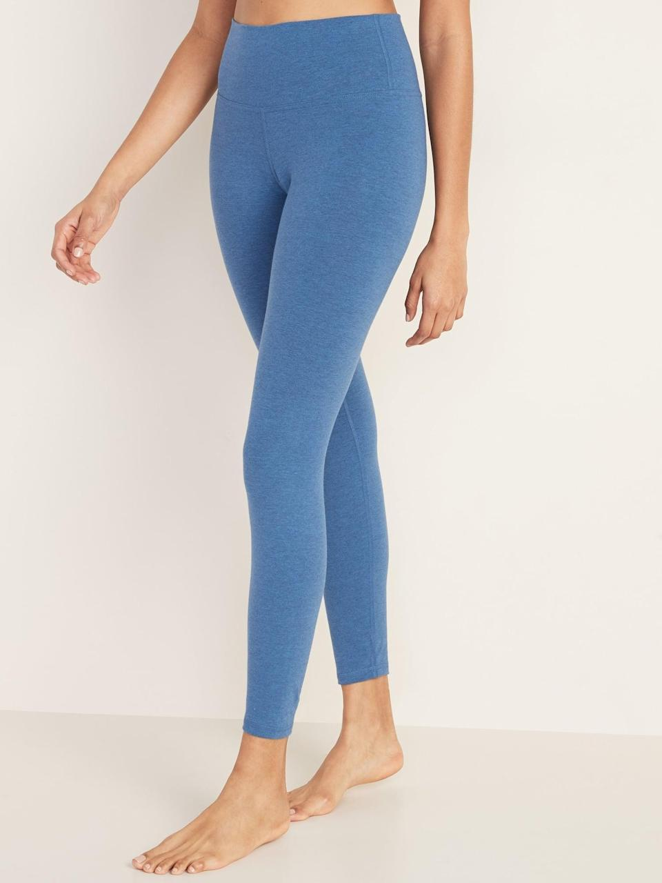 "<p>These <a href=""https://www.popsugar.com/buy/Old-Navy-High-Waisted-Balance-Yoga-Leggings-546339?p_name=Old%20Navy%20High-Waisted%20Balance%20Yoga%20Leggings&retailer=oldnavy.gap.com&pid=546339&price=16&evar1=fit%3Auk&evar9=46472938&evar98=https%3A%2F%2Fwww.popsugar.com%2Ffitness%2Fphoto-gallery%2F46472938%2Fimage%2F47301769%2FOld-Navy-High-Waisted-Balance-Yoga-Leggings&list1=shopping%2Cworkout%20clothes%2Cfitness%20gear%2Cproducts%20under%20%2450%2C50%20under%20%2450%2Cfitness%20shopping%2Caffordable%20shopping&prop13=api&pdata=1"" class=""link rapid-noclick-resp"" rel=""nofollow noopener"" target=""_blank"" data-ylk=""slk:Old Navy High-Waisted Balance Yoga Leggings"">Old Navy High-Waisted Balance Yoga Leggings</a> ($16) are soft, comfortable, and so affordable.</p>"