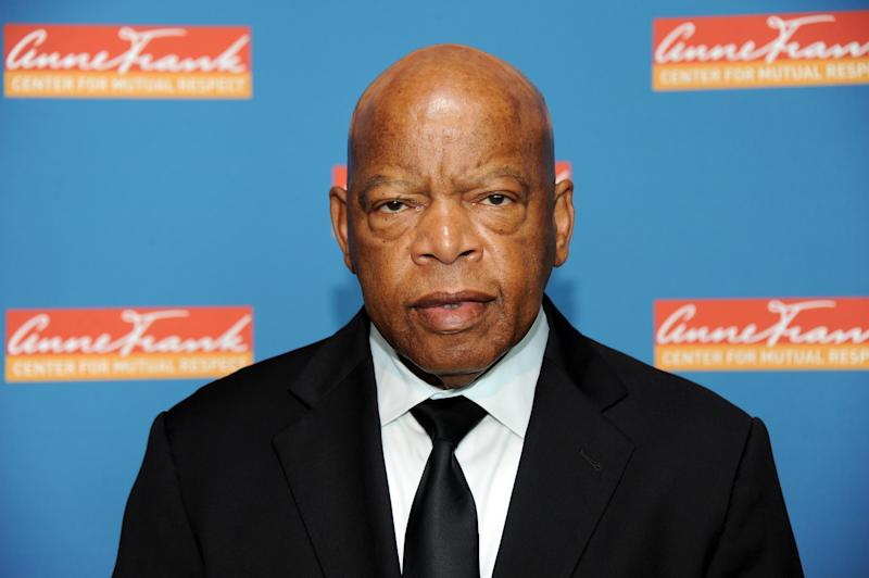 Congressman John Lewis died on July 17, 2020. (Photo by Desiree Navarro/Getty Images)