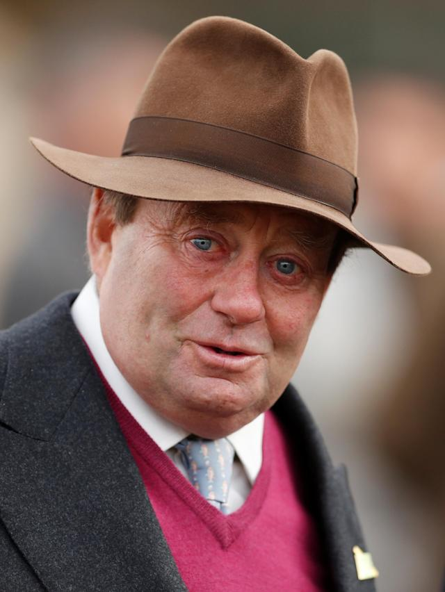 Horse Racing - Cheltenham Festival - Cheltenham Racecourse, Cheltenham, Britain - March 16, 2018 Trainer Nicky Henderson at Cheltenham Festival Action Images via Reuters/Matthew Childs