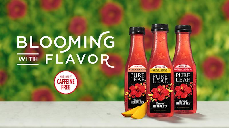 Introducing Pure Leaf Herbal Iced Teas: Mango Hibiscus, Peach Hibiscus and Cherry Hibiscus