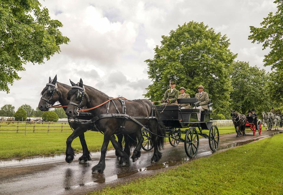 Royal Windsor Horse Show 2021 (PA Wire)