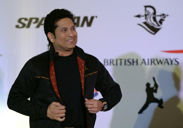 Former Indian cricketer Sachin Tendulkar speaks during a promotional event in Mumbai, on January 30, 2017