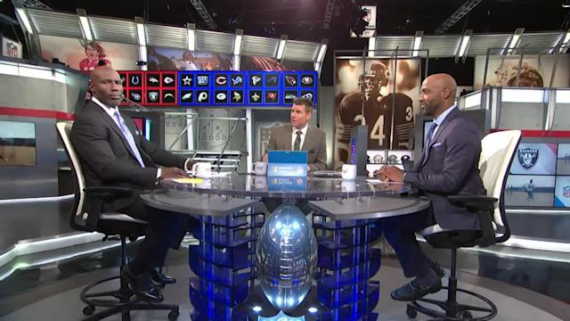 NFL Network's Terrell Davis thinks it's time for Oakland Raiders wide receiver Antonio Brown to get used to a new helmet.