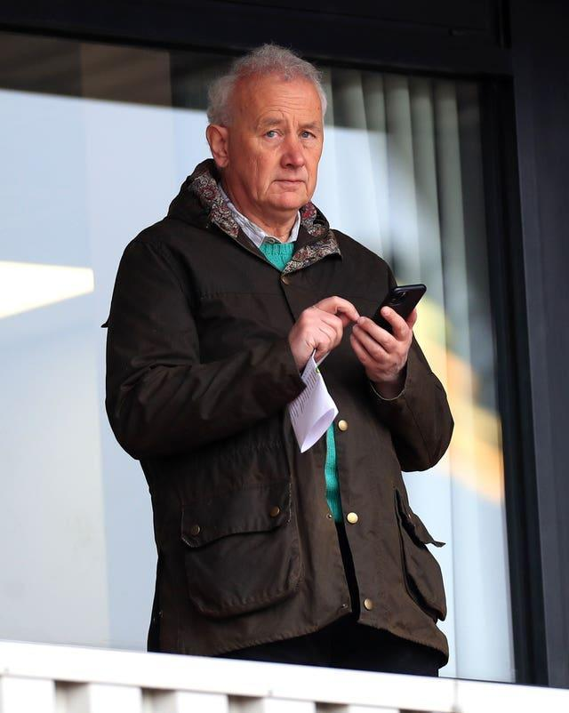 EFL chairman Rick Parry publicly supported the controversial Project Big Picture plans