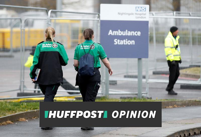 A good number of my NHS coworkers are feeling less like heroes and more like imposters. (Photo: REUTERS)