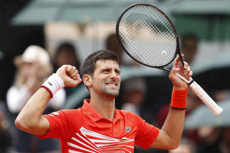 Djokovic in 10th French Open quarters in row