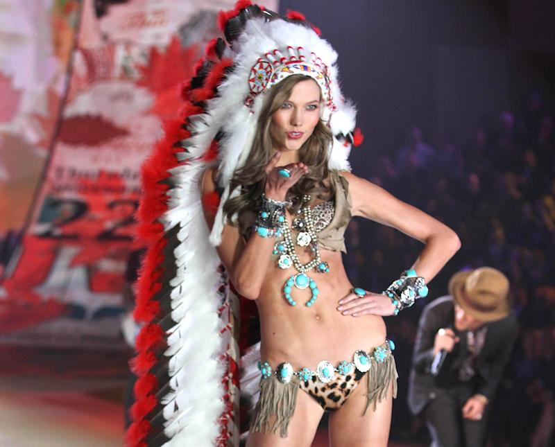 Victoria's Secret apologizes for use of headdress