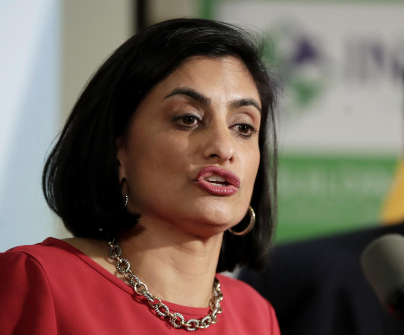 Seema Verma, the Trump administration official in charge of Medicaid, says work requirements will improve self-sufficiency. The evidence doesn't back that up. (Julio Cortez/ASSOCIATED PRESS)