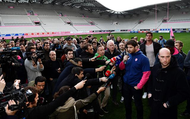 <span>Stade Francais almost merged with Racing 92</span> <span>Credit: AFP </span>