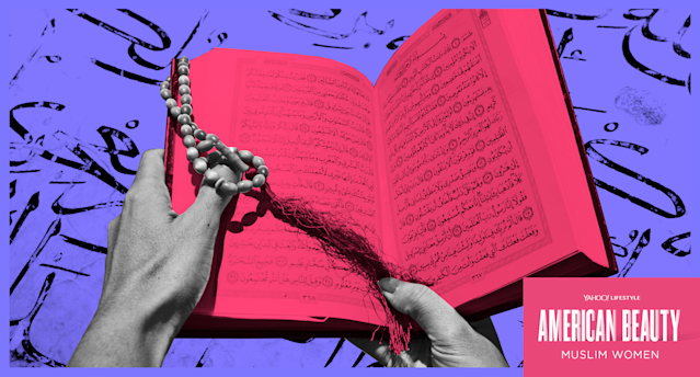 As the granddaughter of a Pentecostal preacher, Kaya Gravitter still faces criticism for converting to Islam. (Photo: Getty Images; art by Quinn Lemmers for Yahoo Lifestyle)
