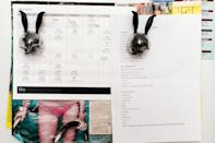 My Body by Simone total sculpting workout schedule stays on my refrigerator as a reminder to keep active and in shape.