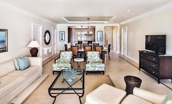 Landings Resort and Spa in St. Lucia offers spacious living.