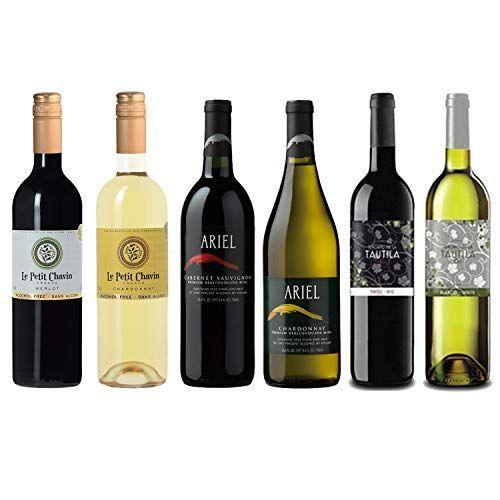 "<p><strong>Various Wineries</strong></p><p>amazon.com</p><p><strong>$124.00</strong></p><p><a href=""https://www.amazon.com/dp/B07FMBZC48?tag=syn-yahoo-20&ascsubtag=%5Bartid%7C1782.g.33370775%5Bsrc%7Cyahoo-us"" rel=""nofollow noopener"" target=""_blank"" data-ylk=""slk:BUY NOW"" class=""link rapid-noclick-resp"">BUY NOW</a></p><p>Entertaining a crowd? No matter what their tastes are, there will be some (non-alcoholic) wine for your crew in this set of six red and white bottles.</p>"