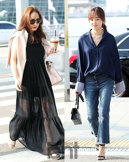 Seo Hyunjin And Park Min Young Appear At Incheon