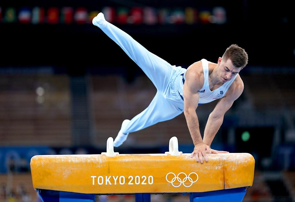 Max Whitlock retained his pommel title (Mike Egerton/PA) (PA Wire)