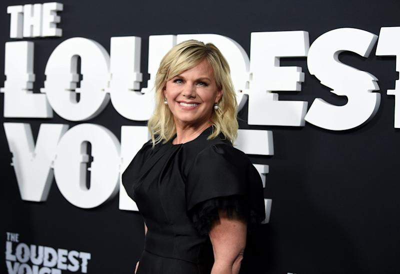 Gretchen Carlson poses at the premiere of