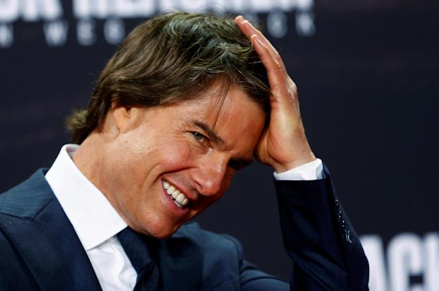 <p>No. 7: Tom Cruise<br>Past year's earnings: $43 million<br>Action movies helped Cruise continue to net millions in the past year, particularly with the<span> latest iteration of the </span><em><span>Mission Impossible</span></em><span> series coming next year.</span><br>(Reuters) </p>