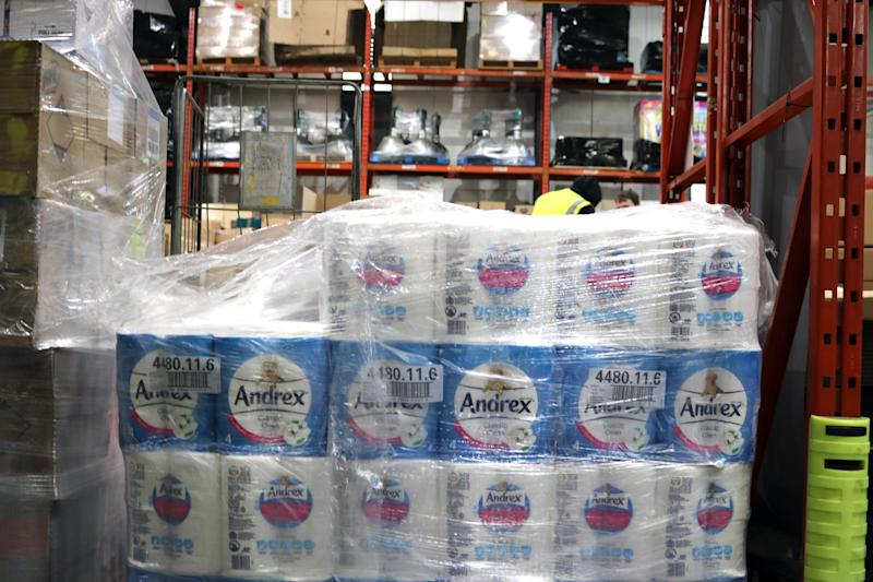 <strong>Charities have told HuffPost of a surging demand for loo rolls</strong> (George Bowden/HuffPost UK)