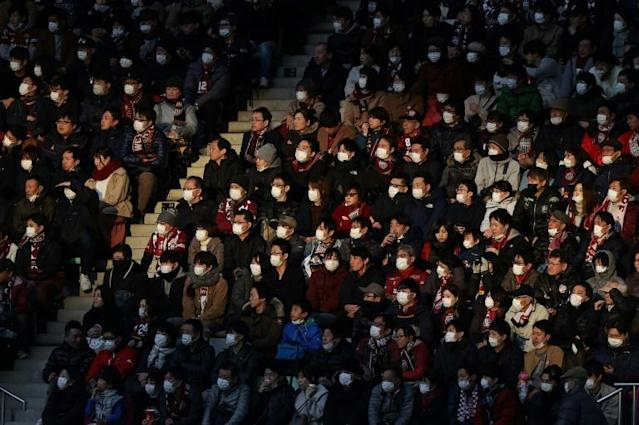 Japanese football has joined a long list of sports disrupted by COVID-19 (AFP Photo/STR)