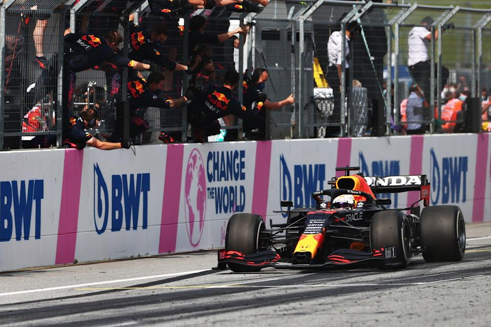 Max Verstappen is now a four-time winner at Red Bull's home circuit in Austria (Getty Images)